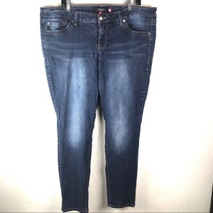 Torrid Skinny Jeans Denim Blue Stretch